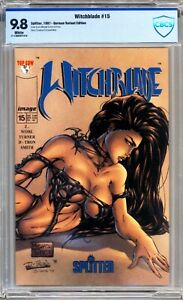 Witchblade #15 - Splitter - CBCS 9.8 - White Pages - Michael Turner
