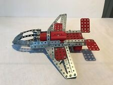 Meccano airplane or jet model space