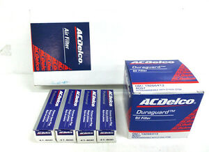 ACDelco Hyundai Getz 1.4l Service Filter Kit Oil Air Filter Spark Plugs