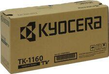Kyocera TK-1160 Black Toner Cartridge - Genuine Original Brand New Unused