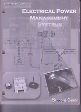 Chrysler Academy Electrical Power Management Systeme Student Guide No Schreib