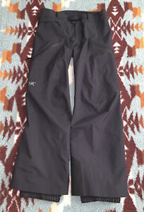 Arc'teryx Sentinel Pant Women's Gore-Tex Ski Large-Short Black 17403-108902