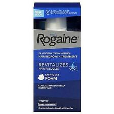 Men's Rogaine Hair Regrowth Treatment Foam, Unscented, 1 month supply 1 ea. New!