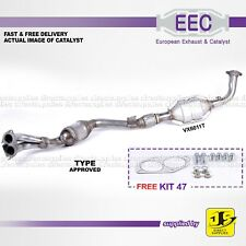 EEC CATALYST VX6011T TYPE APPROVED VAUXHALL OMEGA 2.2 16V Y22XE;Z22XE FREE KIT