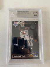 1992-93 Upper Deck Shaquille O'Neal #1 Beckett 8.5