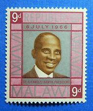 1966 MALAWI 9d SCOTT # 59 S.G.# 269 UNUSED                               CS23070
