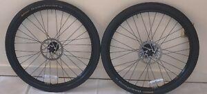 """26"""" Mavic XM 117 Disc Wheel Set, 9mm QR Plus Continental Tires and Rotors"""
