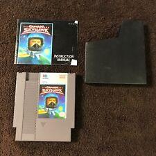 Captain Skyhawk (1989) NES Cartridge w/Instructions & Sleeve