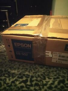 Epson EB-S02 H433B LCD Projector.