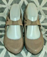Clarks Cushion Soft      Leather Mary Jane Shoes UK 7.5