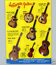 1969 PAPER AD Jefferson Toy Play Guitar Roy Rogers Cowboy Banjo Palomino Pony
