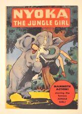 NYOKA THE JUNGLE GIRL # 9 FAWCETT 1947 SHARP FN+ ONLY 2 CGC GRADED COPIES!