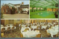 Nashville Tn ~ The Biltmore Hotel Court on Franklin Rd ~ 1960s postcard