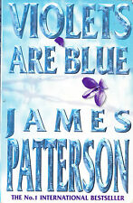 VIOLET ARE BLUE JAMES PATTERSON  Large paperback