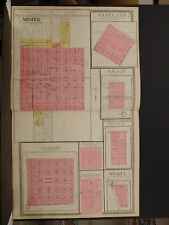 Illinois, Tazewell County Map, 1910, Minier, Parkland, Winkel, Double Page P5#10