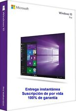 Microsoft Windows 10 Pro 32/64 bit Versión completa clave ESD Download Link
