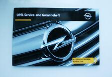 Opel Serviceheft Serviceplan 2016 Neu Blanko