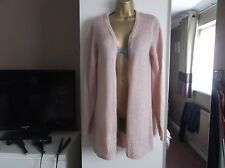 LADIES BUTTONLESS CARDIGAN SIZE 18 PALE PINK BY NEXT IN EXCELLENT CONDITION