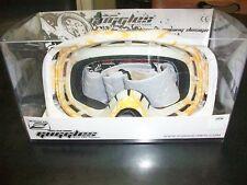 New Zoan Goggle Crossbones Google anti-UV, anti Scratch & anti Fog Clear  es-19