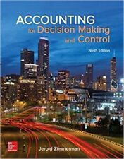 Accounting for Decision Making and Control 9e Global Edition