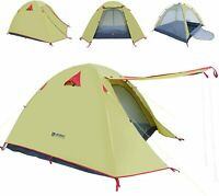 WEANAS Professional Backpacking Tent 2 Person 3 Season (1-2 PERSON)