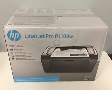 NEW HP LaserJet Pro p1109w Wireless Black-and-White Printer