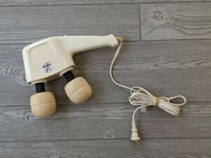 Vintage Hitachi HVT-350R Magic Twin Head Massager 2 Speeds