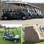 Oxford Cloth PVC Golf Cart Cover Rain For Club/Golf Car Roof Enclosure S M L
