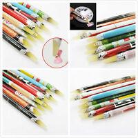 Resin Rhinestones Picker Pencil Nail Art Gem Crystal Pick Up Tool Wax Pen