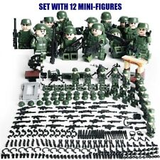 CUSTOM GUNS LOT WW2 MILITARY SWAT POLICE WEAPONS For lego MINIFIGURES
