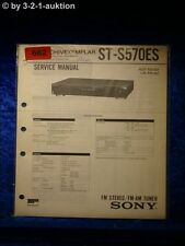 Sony Service Manual ST S570ES Tuner (#0662)