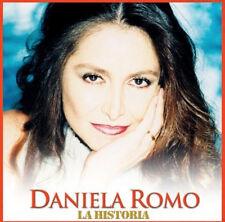 DANIELA ROMO La Historia CD + DVD GRANDES EXITOS Hits Gitana Dueña de Mi Corazon