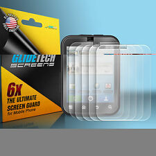 6x Brand New Clear LCD Screen Protector Cover case for Motorola DEFY MB525