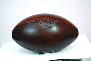 1930's Vintage Style Football, 4 Panels, Size 5 (Full Size) WATER MELON.