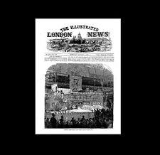Dollshouse Miniature Newspaper -London Illustrated News 1865
