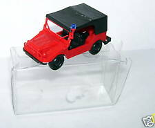 MICRO ROCO HO 1/87 AUTO UNION style JEEP POMPIERS BOX