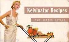 Vintage Kelvinator Recipe Book   SirH70