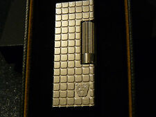 Rare Dunhill  Bulldog  Palladium Paved Lighter Good used condition Boxed