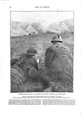 WWI Bataille de la Somme Bois de Hangard Fusiliers Mitrailleurs  ILLUSTRATION