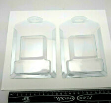 """New Lot 77pcs 4"""" x 6"""" Clear Plastic Hanging Display Clamshell Retail Packaging"""