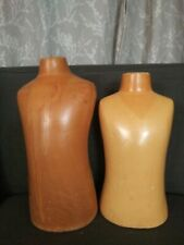 Vintage Small Male / Male Child Mannequin Torso Clothing Form Displays-no stand