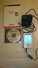 Toshiba e740 Pocket PC and accessories, needs new battery and stylus