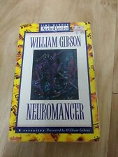 Neuromancer audio book - 4 cassettes - read by William Gibson