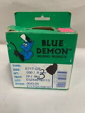 New Listingnew Blue Demon E71t Gs 030 Mig Gasless Flux Core 2 Lb Welding Wire Spool A6