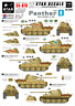 Star Decals 1/35 Pz.kpfw.v Ausf.d Panther - Verano of '43 #STAR35876
