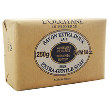 Shea Butter Extra Gentle Soap - Milk by L'Occitane for Unisex - 8.8 oz Soap
