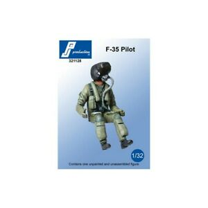 1/32 PJ PRODUCTION F-35 PILOT SEATED IN A/C