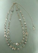Costume Jewelry - Clear Beads with AB Finish