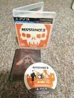 Resistance 3 - Sony Playstation PS3 Game - Complete - Private Seller - FREE P&P!
