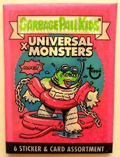 2019 Super7 Garbage Pail Kids x Universal Monsters Pink Wax Pack(Green Head)